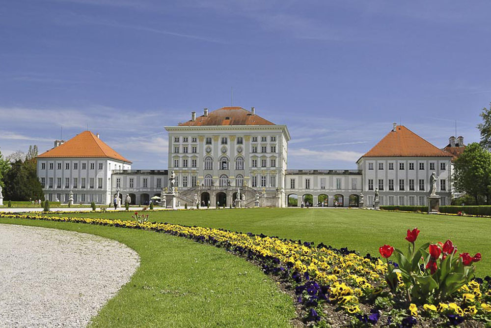 Stroll Through The Scenic Park Of Schloss Nymphenburg